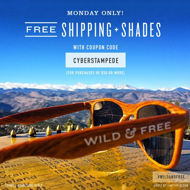 #wildandfree with @epicbar ! Winter is in high gear and we need our fuel! Don't miss out on free shipping and some epic sunnies! #meatbar #paleo #foodisfuel #free