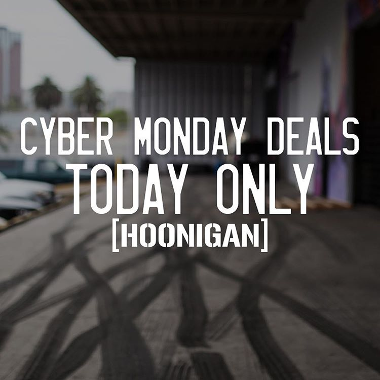 'Nuff said. Time is running out, click the link in our bio before we wrap this up. Killer deals and free shipping on #hooniganDOTcom.