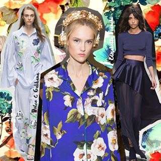 New ✨✨ mis favoritos del Spring 2016 http://bit.ly/Spring016 o link en bio #dolcegabbana #bluemarine #elisabettafranchi #fashion #runway #floral #flowers #blogger #style #looks #spring