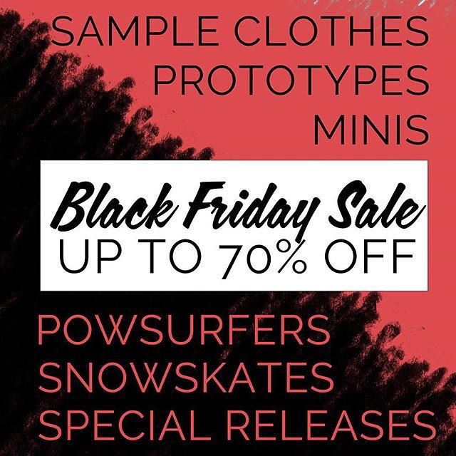 Still some deals to be had for #blackfriday. Sale prices on decks, wheels, tees and hoodies that shouldn't be missed. Hit the link in our bio to check out the sweetness.