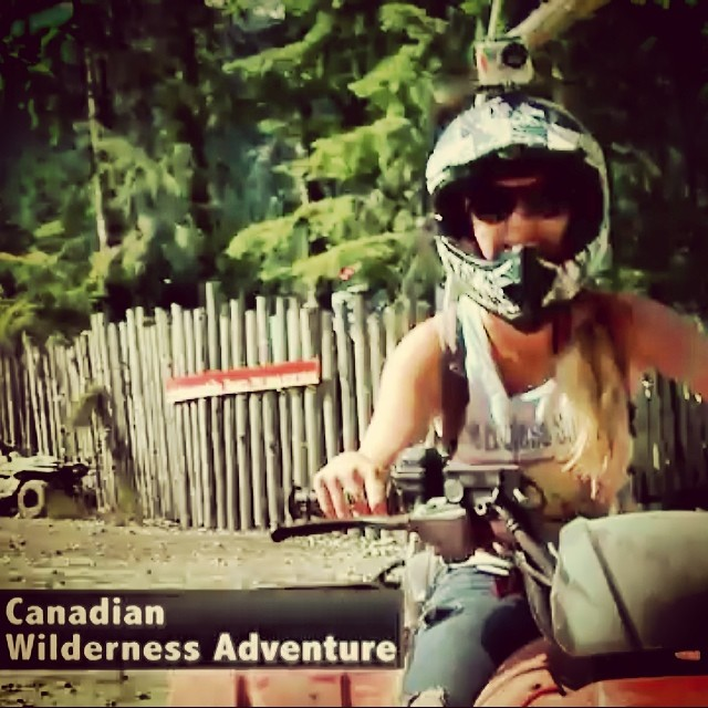 Watch Jenica's wilderness adventure in Whistler, B.C. Tomorrow at noon.
