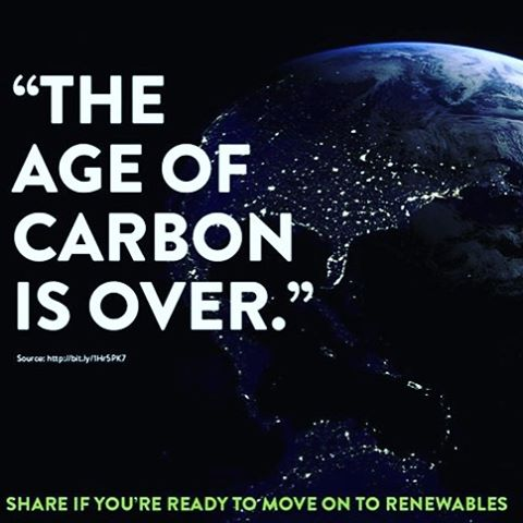 Carbon based fuels that pollute the ocean, earth and sky are like sooooo last century...