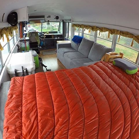 Regram from the homies @bluebusadventure. Check out this awesome rig!