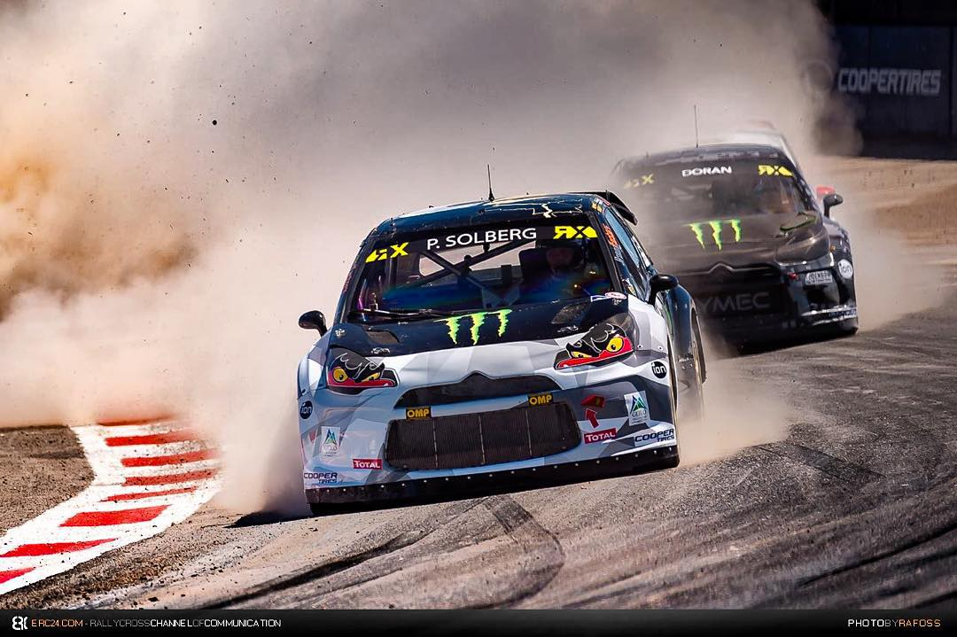Huge congratulations to my team mate @petterwrc03 for winning the 2015 @fiaworldrx championship for the second year in a row #legend #settingthepace #sdrx