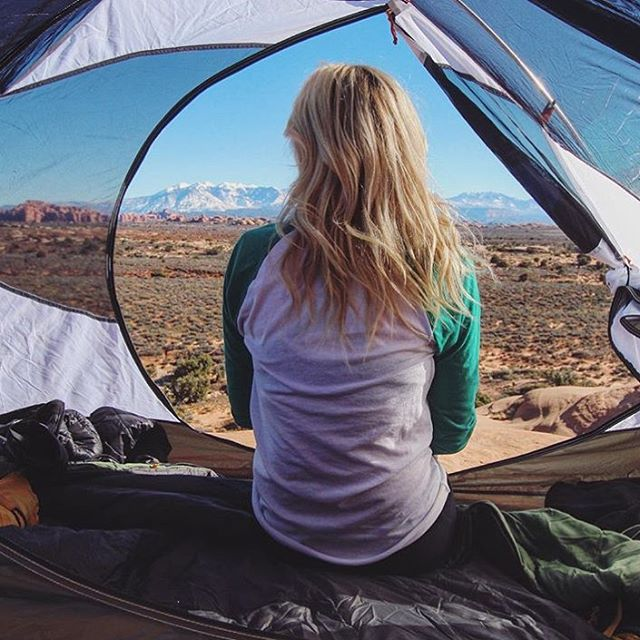 WE WAKE UP LIKE THIS Beautiful #radparks shot from  @jessgrambau in our Olympic raglan. #parksproject #tentlife #utahisrad
