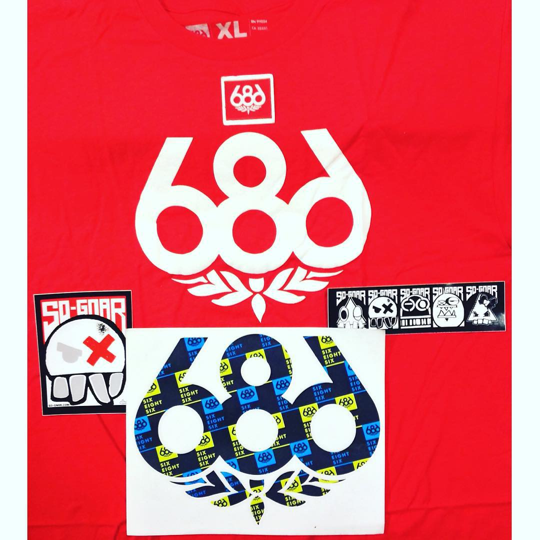GIVEAWAY! Win a t-shirt, patch, and die-cut sticker from Snowboard Camp Tour sponsor, @686!! 1⃣ Follow @sognarofficial and @686  2⃣ Tag 2 friends 3⃣ WIN!! Don't forget to sign up for the 10th anniversary of camp! Link in bio! 〰⚡️〰 #sognar...