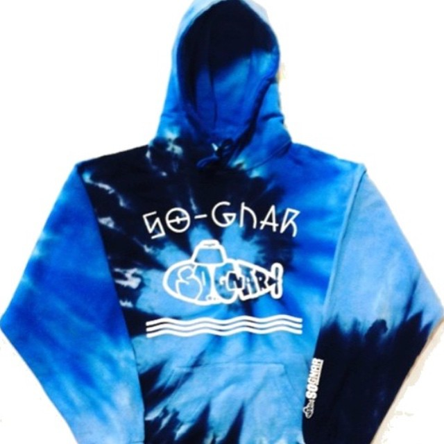 New 〰Waves 〰 Tye Dye Hoodie out now // ⚡️so-gnar.com ⚡️or link in bio! #sognar #sognarforever #buildlocallyspreadglobally