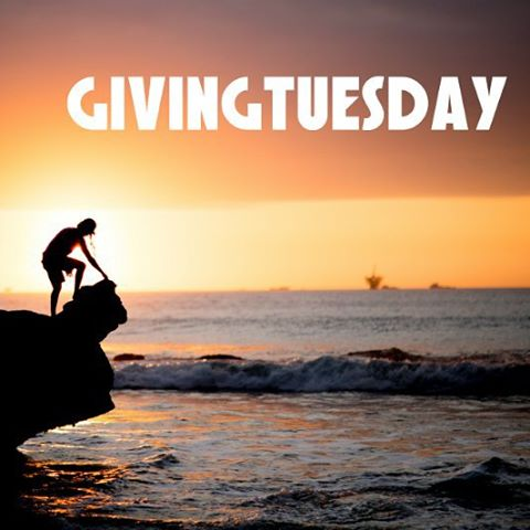 Happy #givingtuesday! Give to WAVES. #lobitos pic: @forestwoodward