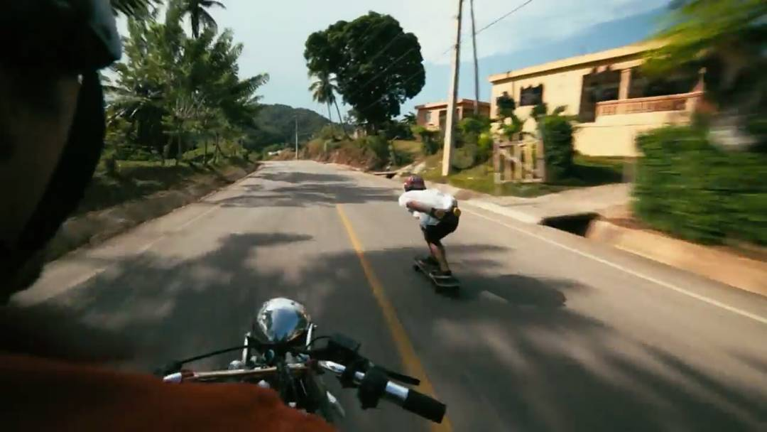 Motorcycles, rescuing junk yard dogs, and jumping off waterfalls makes for quite an epic skate adventure in the Dominican Republic.  That's why you should click the link in our bio and go watch the latest short film by the one and only @PerroPro...