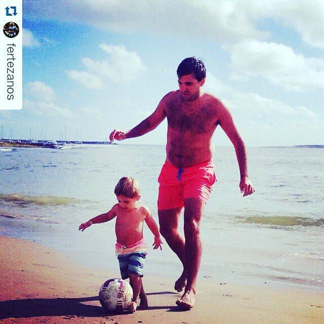 @panzapeople auspicia este gran momento padre e hijo