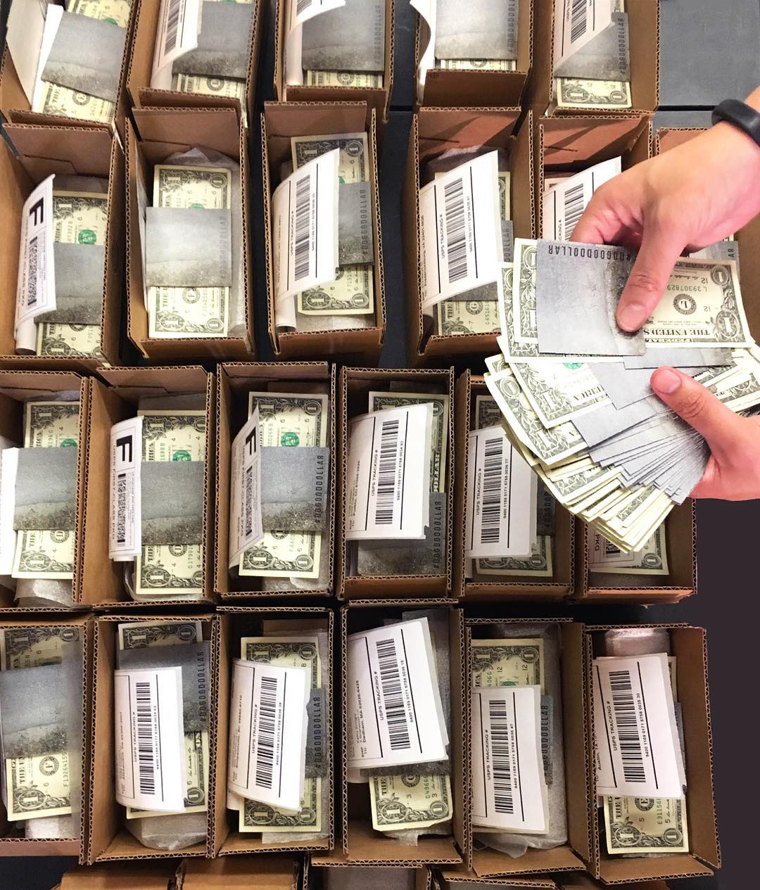 Thanks to Cyber Weekend and our supreme shipping duo, Joey & Dan, we're sending out hundreds of the #DoGoodDollar today. We're excited to see where and who you'll choose to invest into this season!  PS- happy birthday, Joey!  How are you spending...