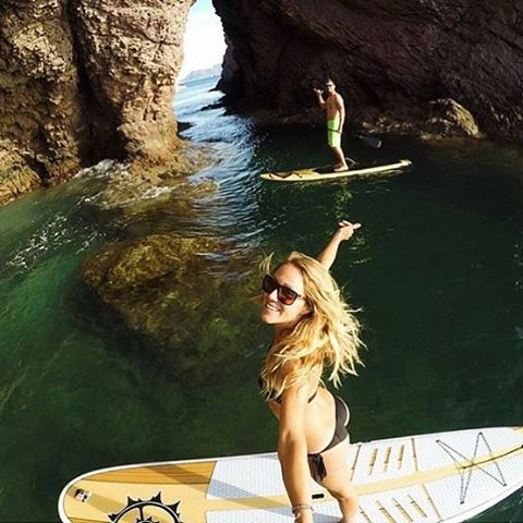 Living vicariously through all our ambassadors adventuring in beautiful warm places! @colleenjcarroll sharing a taste of Mexico. #sup #paddle #travel #sensisophie #teamsensi #jointheadventure
