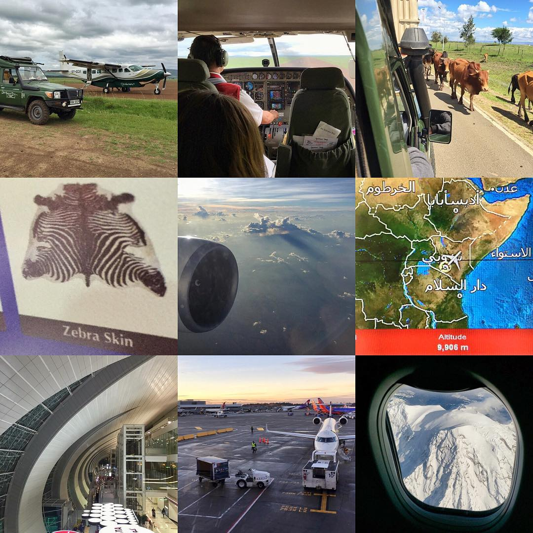 Just completed my longest home-return journey ever: 4 flights and 3 long layovers, which means over 37 hours of travel. A few highlights: leaving the savannah of Kenya in a prop plane, being blocked by cows getting into the Nairobi airport, strangest...