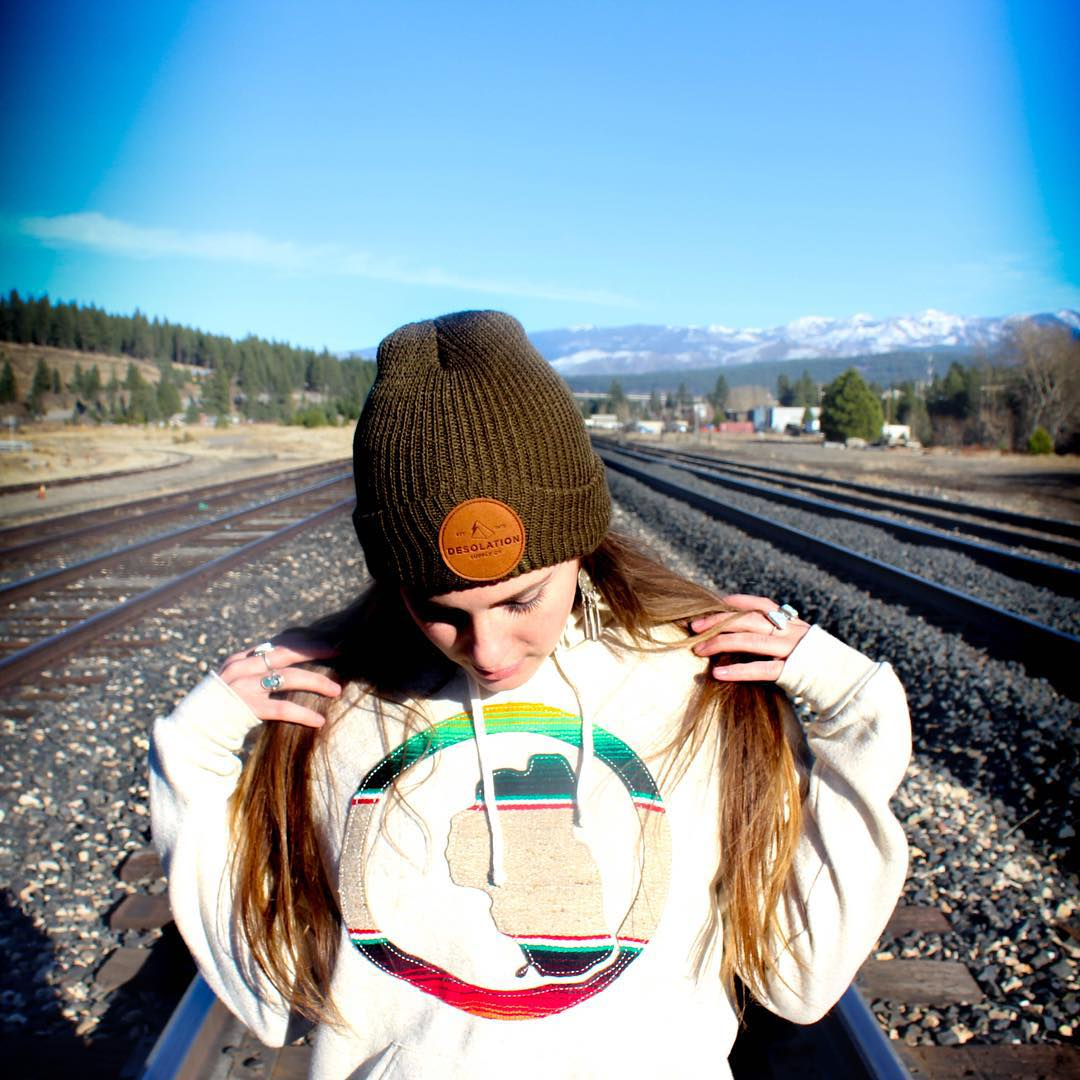 More new OG SERAPE HOODIES like this one on @gr.emily available online later this week. P: @demetrisavas  _ #tahoemade #thisistahoe