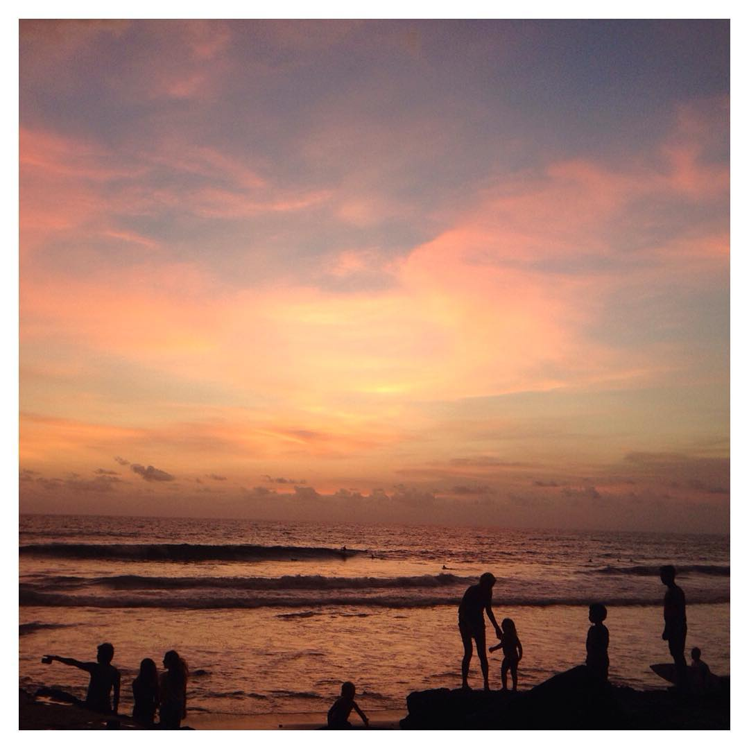 When nature puts on a free show, you should never pass up a front-row seat. ✨Canggu, Bali magic hour via @mutiamutia #thisisbali #indolife #Indosole #TiresToSoles #SolesWithSoul
