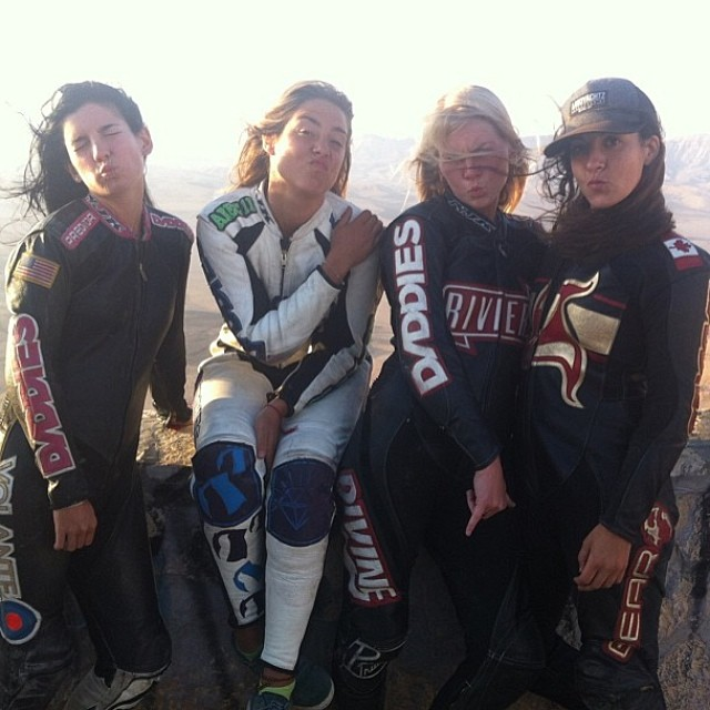 New #lgcopen short clip featuring @daddiesboardshop girls! Go to www.longboardgirlscrew.com and check out the new teaser plus daddies' girls raddest photos of the trip #duckfaceordie #longboardgirlscrew #daddiesboardshop