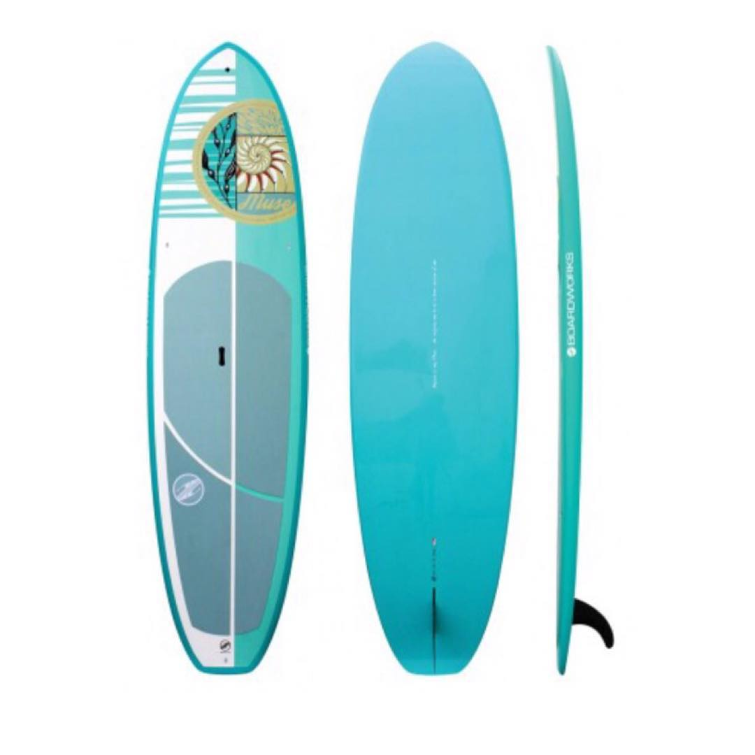 What is on your Christmas wishlist? We are loving this 'Muse' board by @boardworkssurfsup as seen in @forbes 'Luxury Gift Guide 2015.' A great all around paddle/fitness/surf board for the ladies!