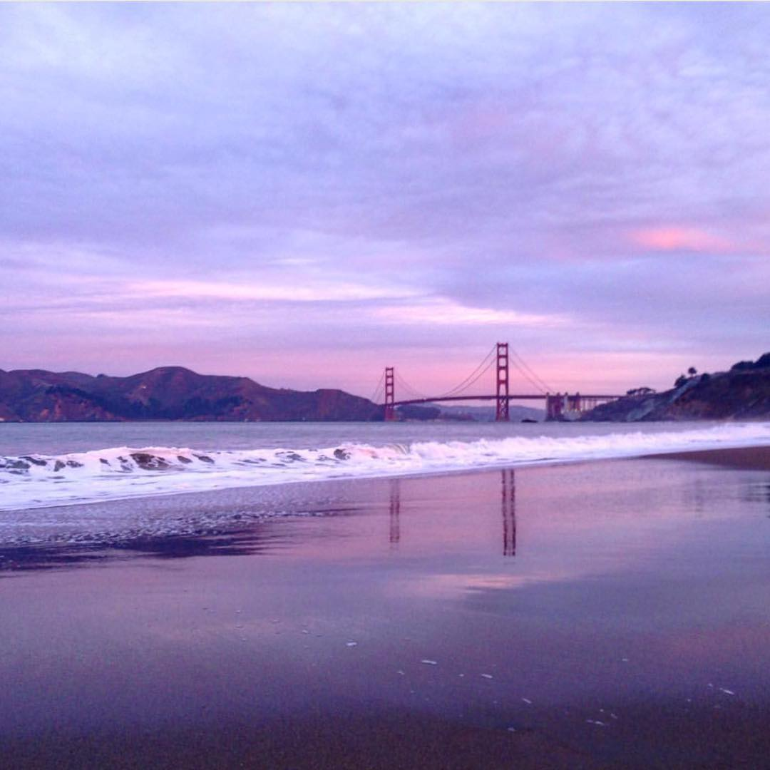 Thank you to our loyal Surfrider Members like @bakerbeachsf who continue to #protectandenjoy our ocean and beaches everyday. Support our mission and donate today @surfrider. #riseaboveplastics #sfsurfrider #goldengatebridge #goodmorning from #sanfrancisco