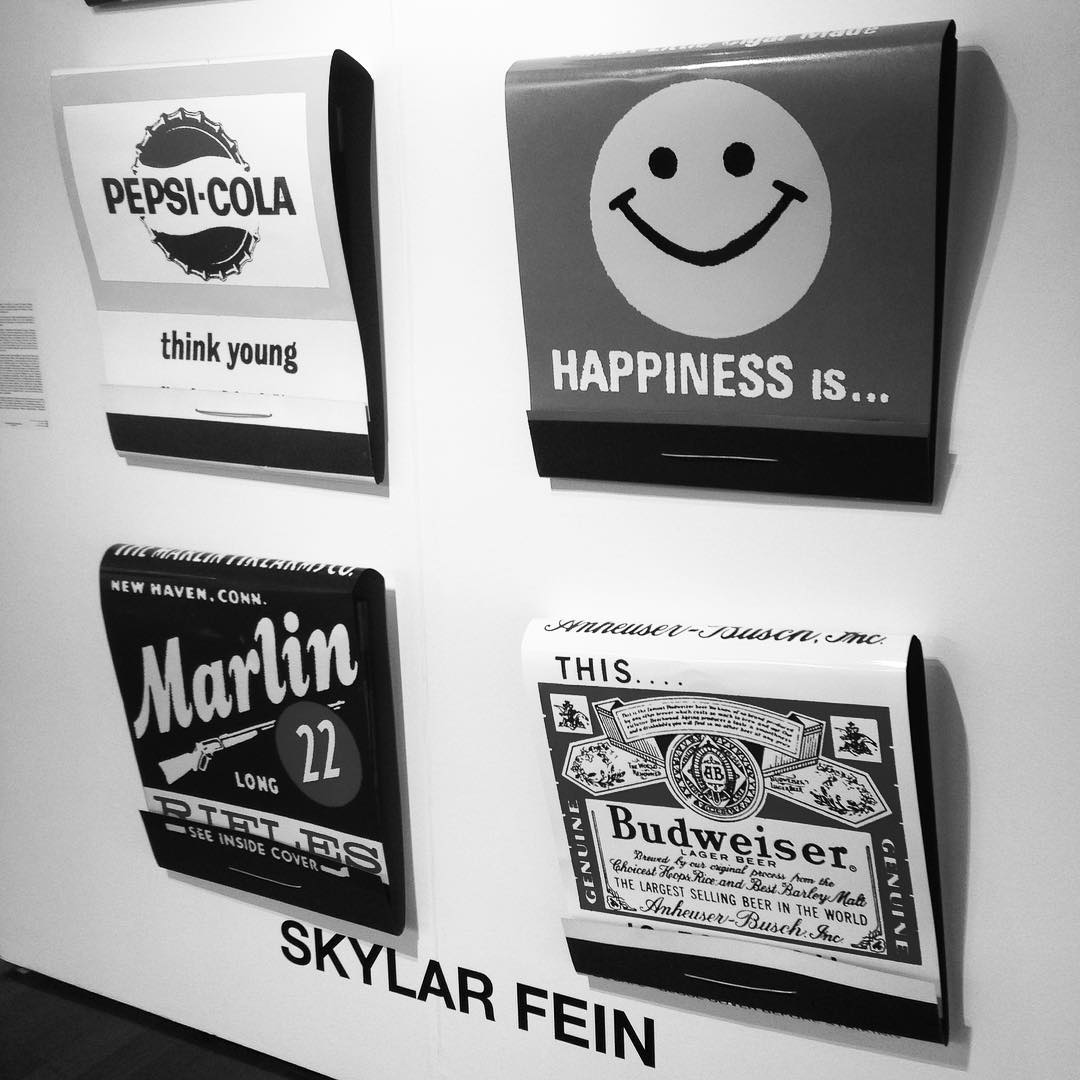 Giant matchbooks by Skylar Fein at Miami Project. #artonpaper #miamiproject #skylarfein #artbasel #miamibeach