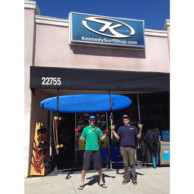 Kennedy Surf and Skate is well stocked with Caliber Trucks! They've been serving their community in Woodland Hills, CA since 1972!