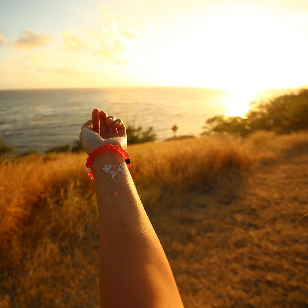 Good as gold #livelokai  Thanks @summerbreezyxo