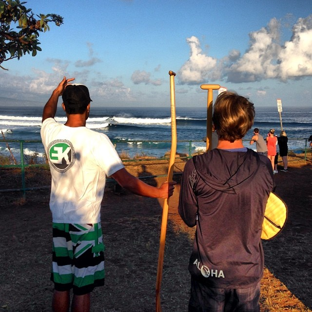 A great day ahead, a great day behind, #tbt! @ekeverything #paddleHI #maui #soonagain