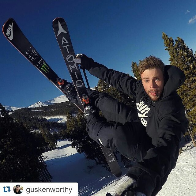 #XGames bronze medalist @GusKenworthy's selfie game is