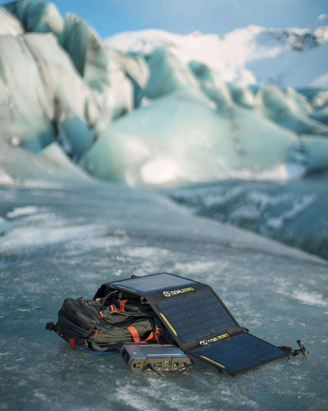 @andy_best's Sherpa 100 Kit on ice. #getoutstayout