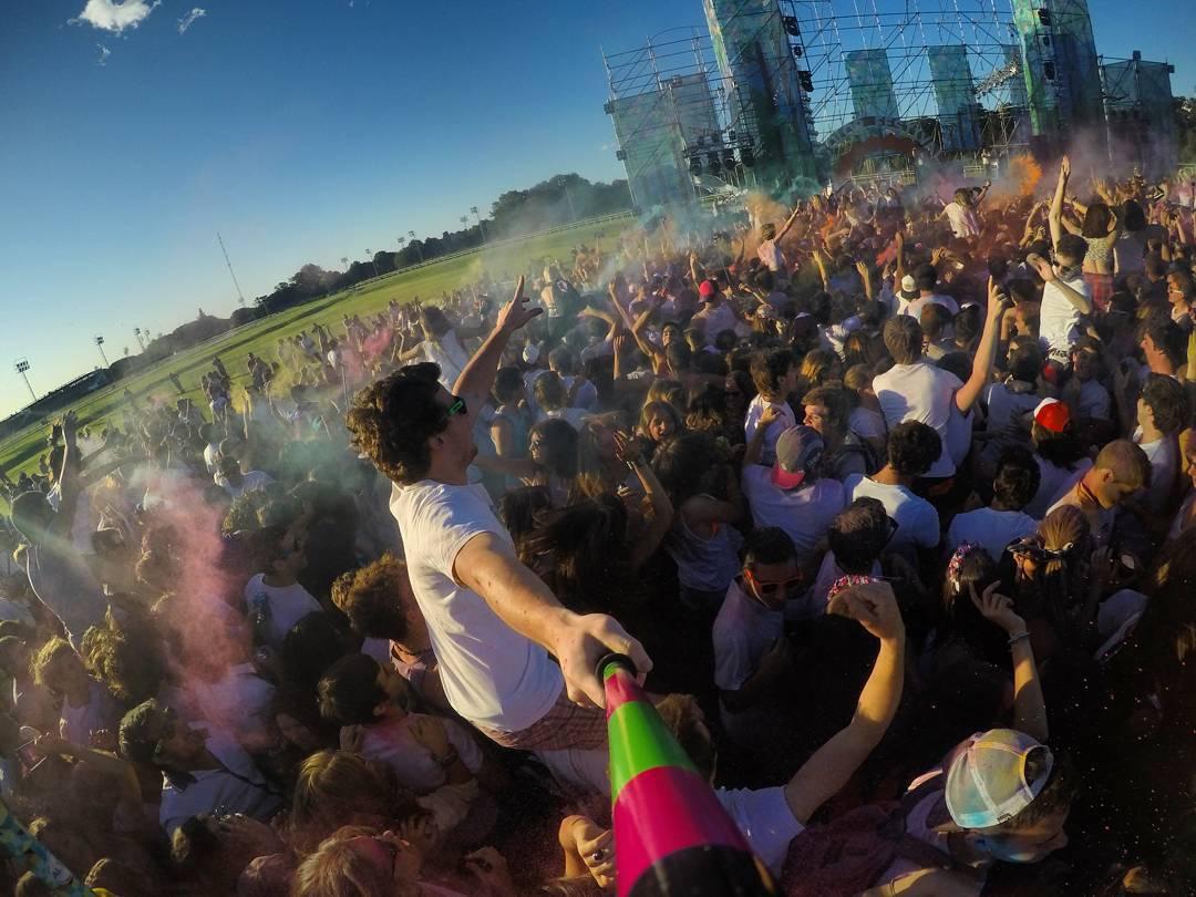 Otra foto de la @wecolorfestival !! Gracias @facundogutierrezc por la foto!
