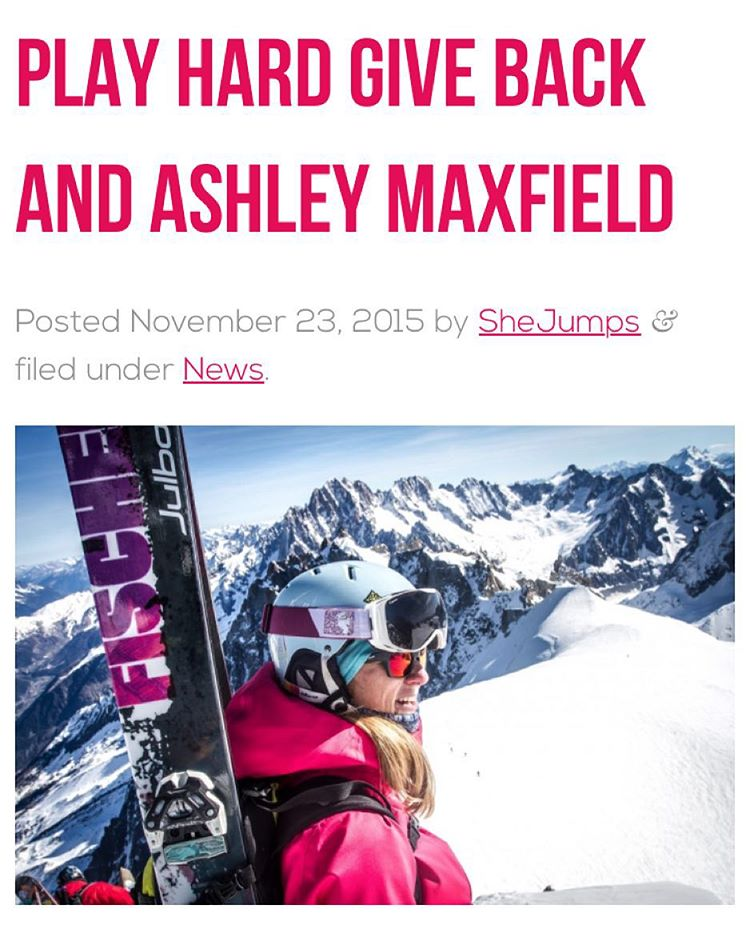 #PHGB athlete @amxfld19 talks about #playinghard and #givingback !! @shejumps is all about increasing the participation of women and girls activities, read the whole story by clicking link in bio!! #jointhemovement #snackwithpurpose