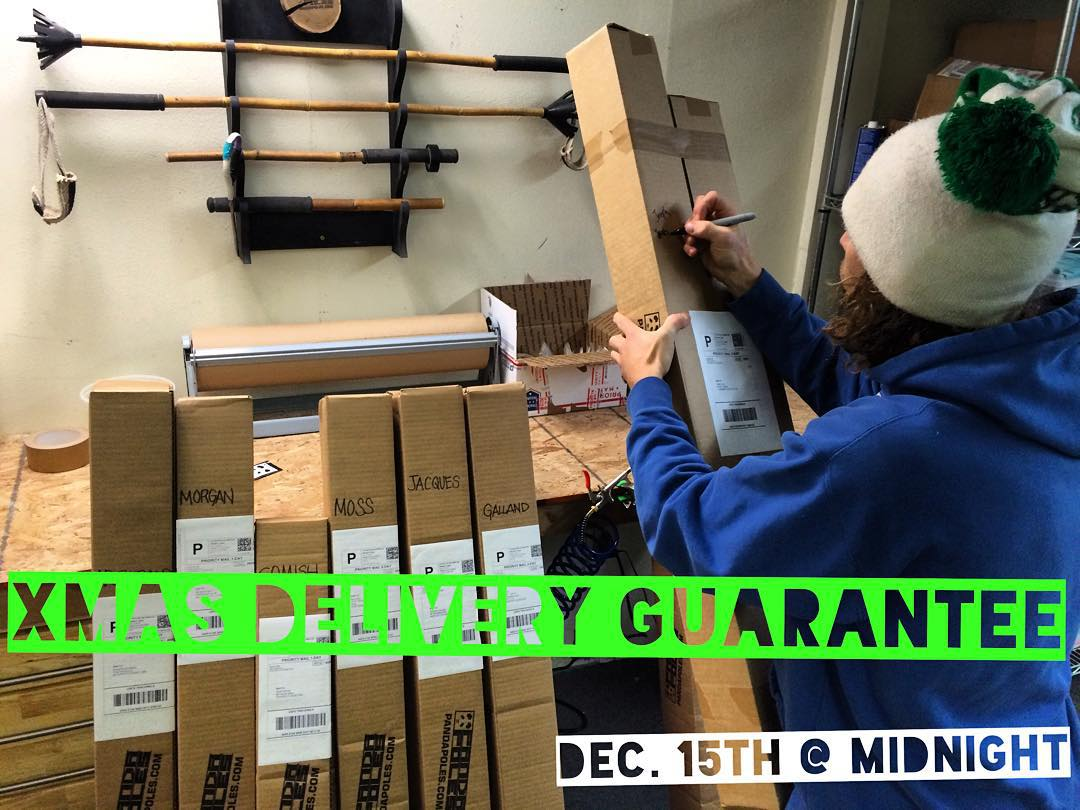 HandCrafted takes time... Make sure to order by December 15th at midnight to ensure your Xmas Eve delivery! (Lower 48 only - Intl. orders must be received by Dec. 10th)  And remember, shipping is always included! (Lower 48 & Intl. orders over...