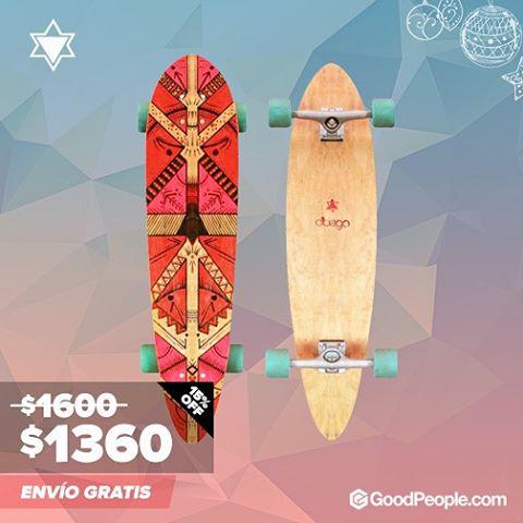 """Consegui tu #deslizate """"juntos"""" en @goodpeoplearg. Comprala en/buy it ----> www.goodpeople.com/ar/deslizate #skate #longboard #monsterboard"""