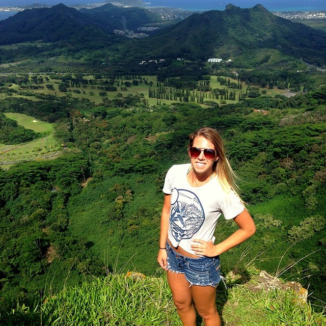 Laura exploring #nature in our 100% #organic cotton crop #tee with birds of paradise design. Win an #Organik hat by posting a photo of how you're one with nature. Mention @organik and #organik on our #Instagram #contest. Winner is announced this...