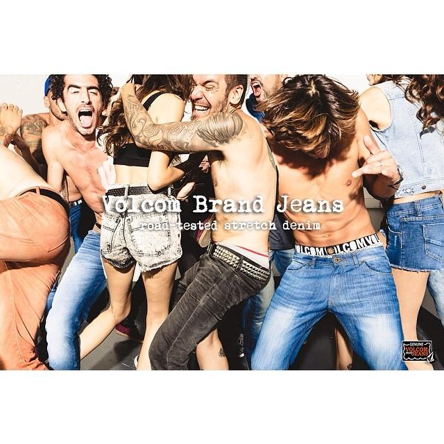 Volcom Brand Jeans #roadtestedstrechdenim #winter14 #denim #strech #roadtested