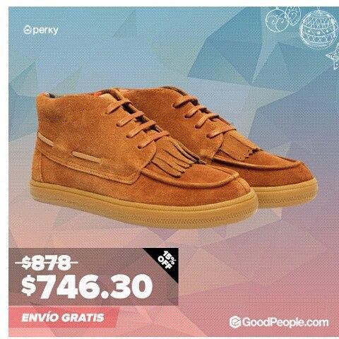 Boot con flecos extraibles: Aprovecha el Christmas Sale de GoodPeople.com para llenar tu arbolito de regalos a precio increíbles haciendo click acáhttp://bit.ly/1XJXusC #sale #unissex #shoes #boots #Perky #folk #skate #bmx #summer #surf #style #look...