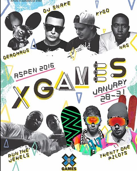 TØP is gonna turn Aspen upside down in January! #XGames