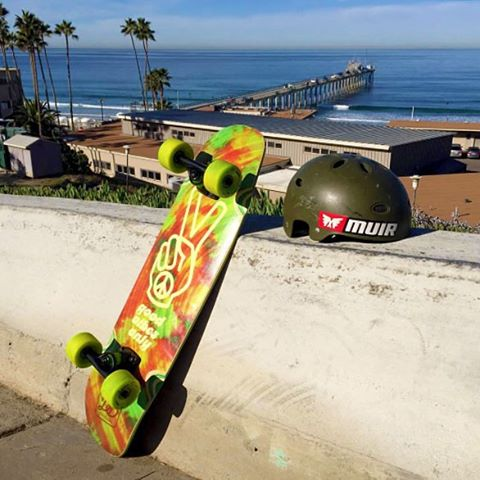@muriskates's Scott Lembach (@theelbeasto) picked up one of our new Mini Cruisers! Good Vibes for sure and make sure to snag one from MuirSkate.com! #dblongboards #longboard #dbmini #explorecalifornia #longboarding #goodvibes