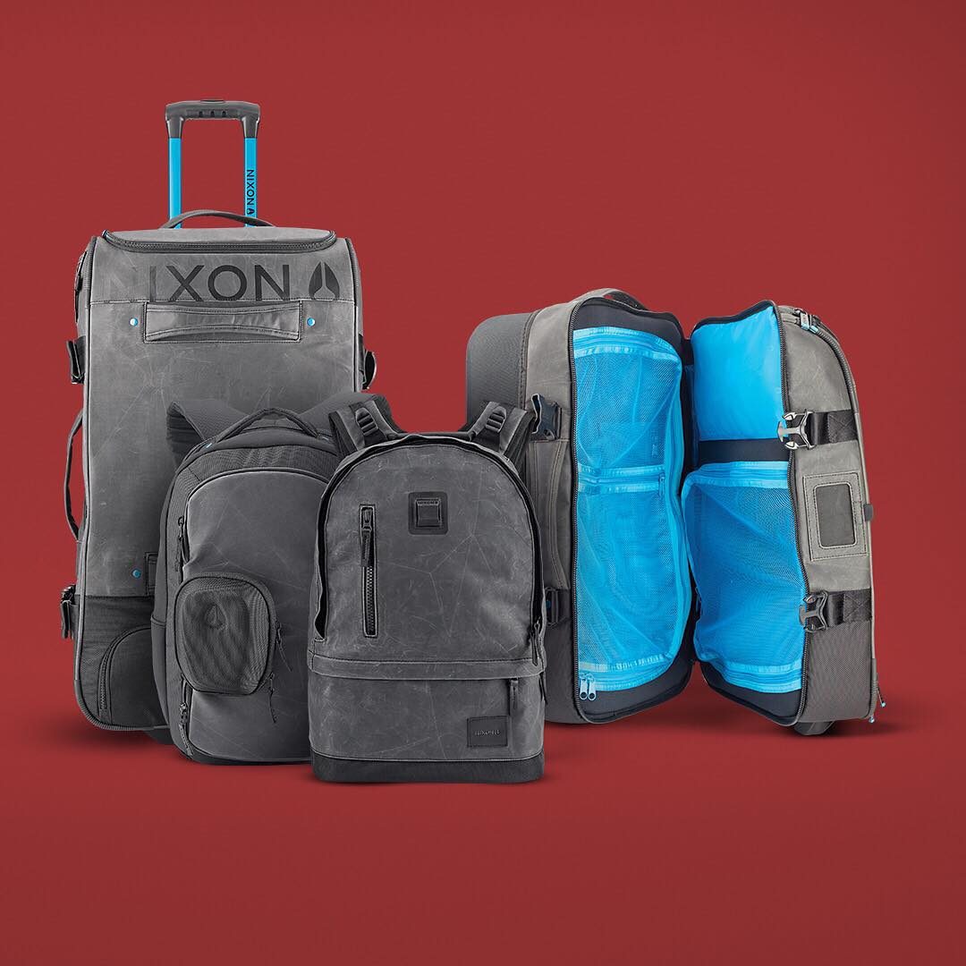 #Nixon bags have been tested the world over and will handle your jetsetters journey no matter the distance. #GetGifting
