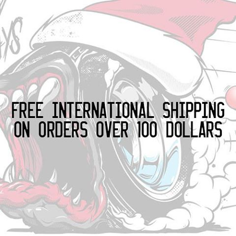 HNGN Holiday Countdown: Yo World, we got you covered with FREE INTERNATIONAL SHIPPING for TODAY ONLY! Click the link in our bio for easy access. #dontsnooze #12morehours