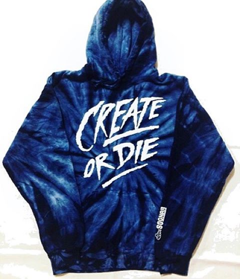 The mantra〰Create or Die〰Create or Die〰Create or Die〰 Pick up a