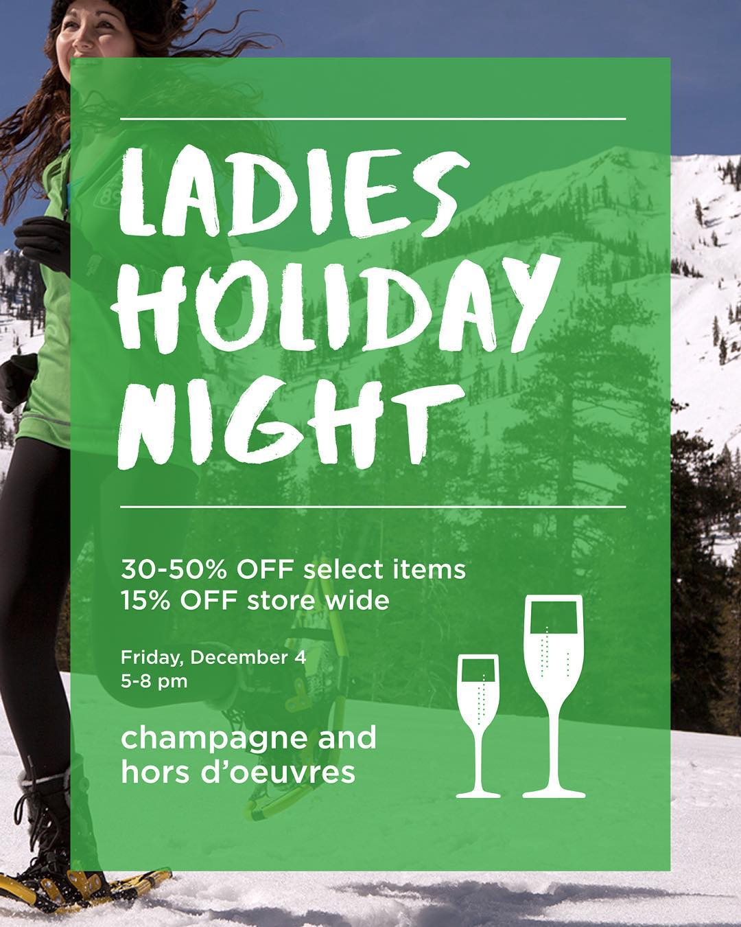Ladies we'll see you tonight at our #Truckee store!