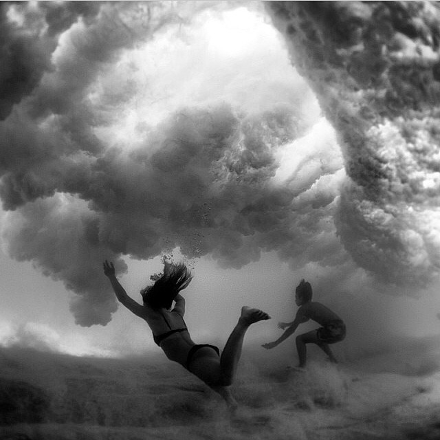 Weightless. regram @morganmaassen #surf #stoke #water #wavetribe
