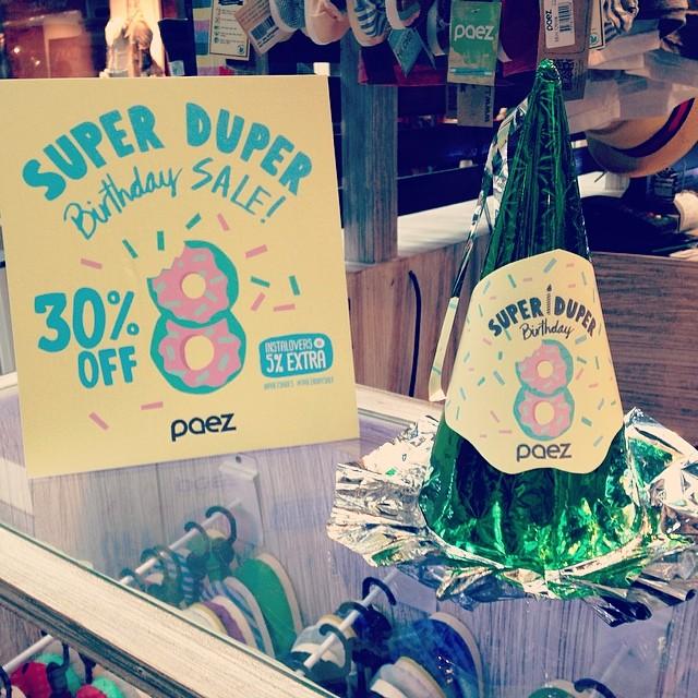 It's PAEZ Birthday ! #WeCelebrate #PaezBday ! • 30% OFF durante todo el mes de Marzo en nuestros Paez Stores de Argentina • +5% OFF si sos Instalover de @PaezShoes • +5% OFF si te sacas una foto con nuestro #PartyHat [Promoción Exclusiva para Paez...