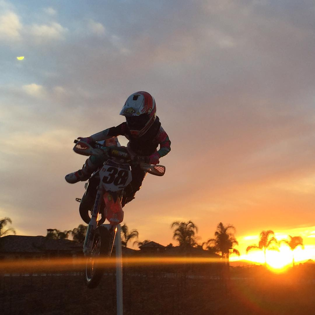 #sunset at the ranch.  @dangerboydeegan photo creds #dad
