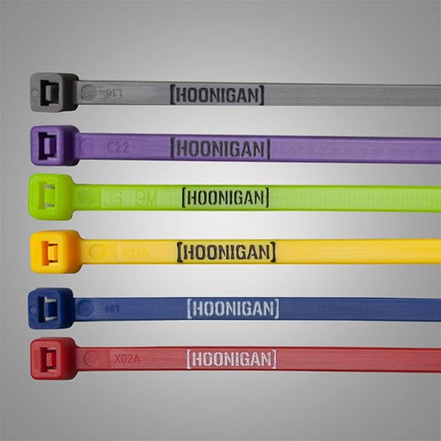 We all break stuff. Fix it properly with Hoonigan zipties. Available on #hooniganDOTcom. #ducttapecomingsoon