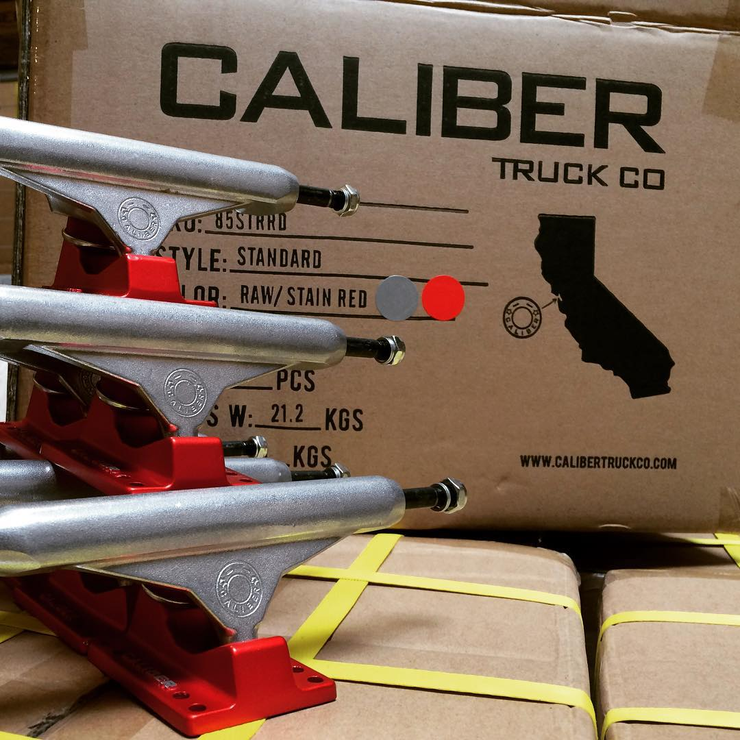 #SATIN red #CALIBERSTANDARDS #Outnow #quality #skateboarding from #NorCal