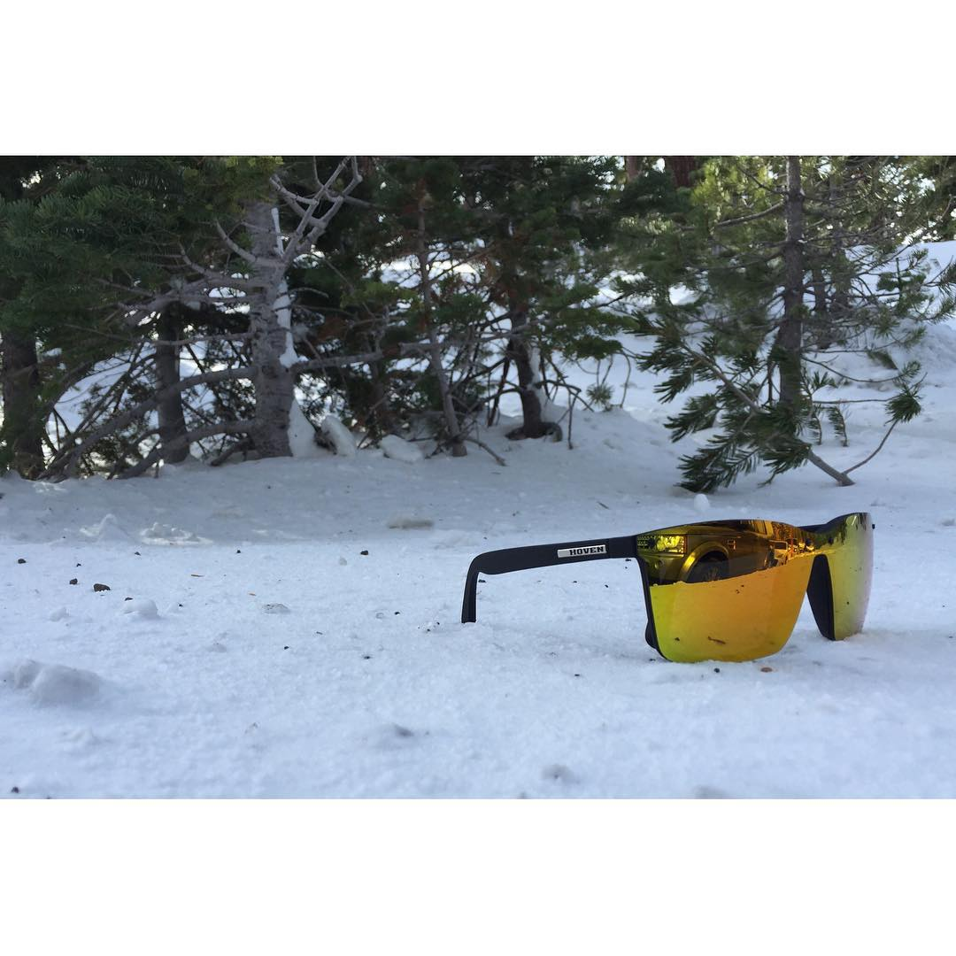 // When fire meets ice \\ Introducing The Bixby in one of its hottest styles. Great for casual awesomeness in the snow.  www.hovenvision.com  #hovenvision #mammoth #thebixby #90sorange