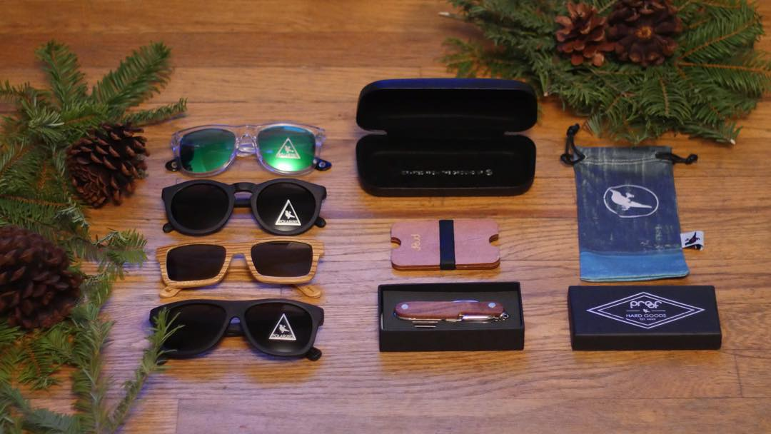 From now until Christmas, we're offering 4 different Gift Combos starting at only $90 including one of the frames pictured above, a microfiber pouch, hard case, wallet & pocketknife - find this & more on our Sale Page!  15% off the entire site + FREE...