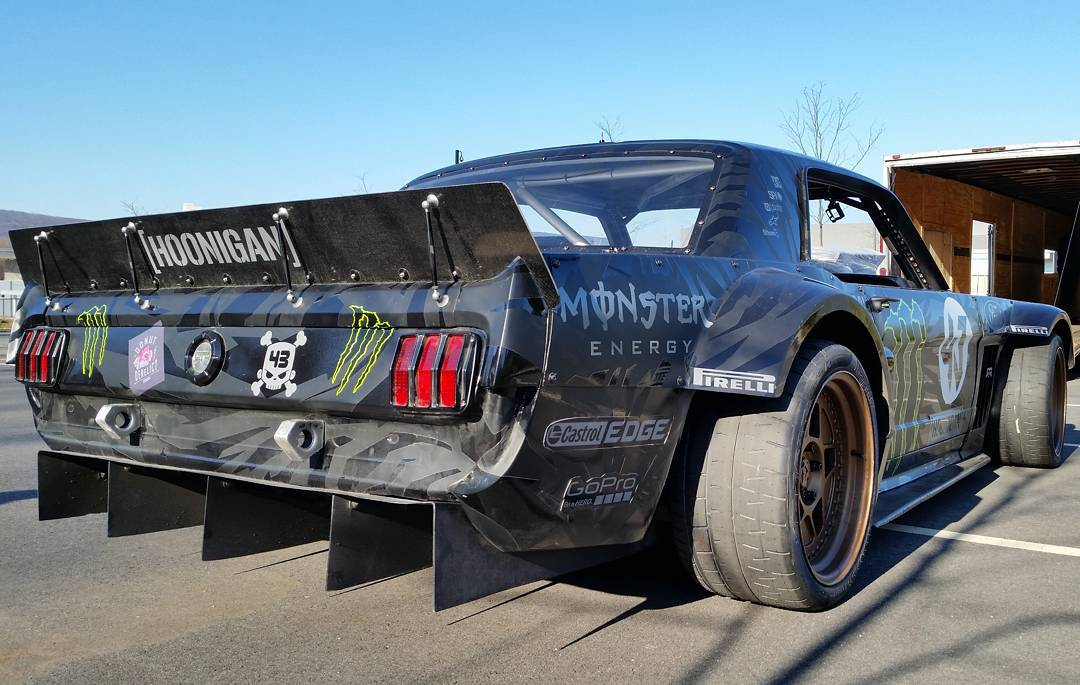 The baddest Mustang ever built belongs to @KBlock43.