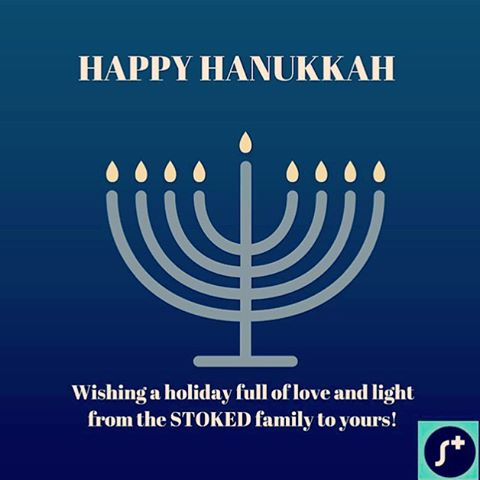 Wishing a very happy holiday to those who celebrate! #happyhanukkah